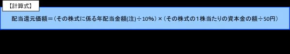 特例的評価方式(配当還元方式)